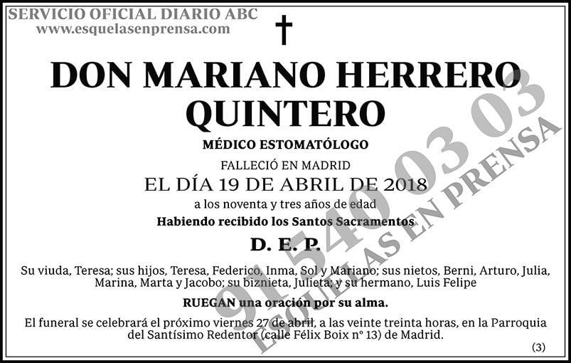 Mariano Herrero Quintero